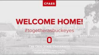 Welcome Home CFAES Buckeyes!